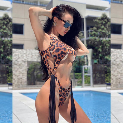 Ariel Leopard Swimsuit