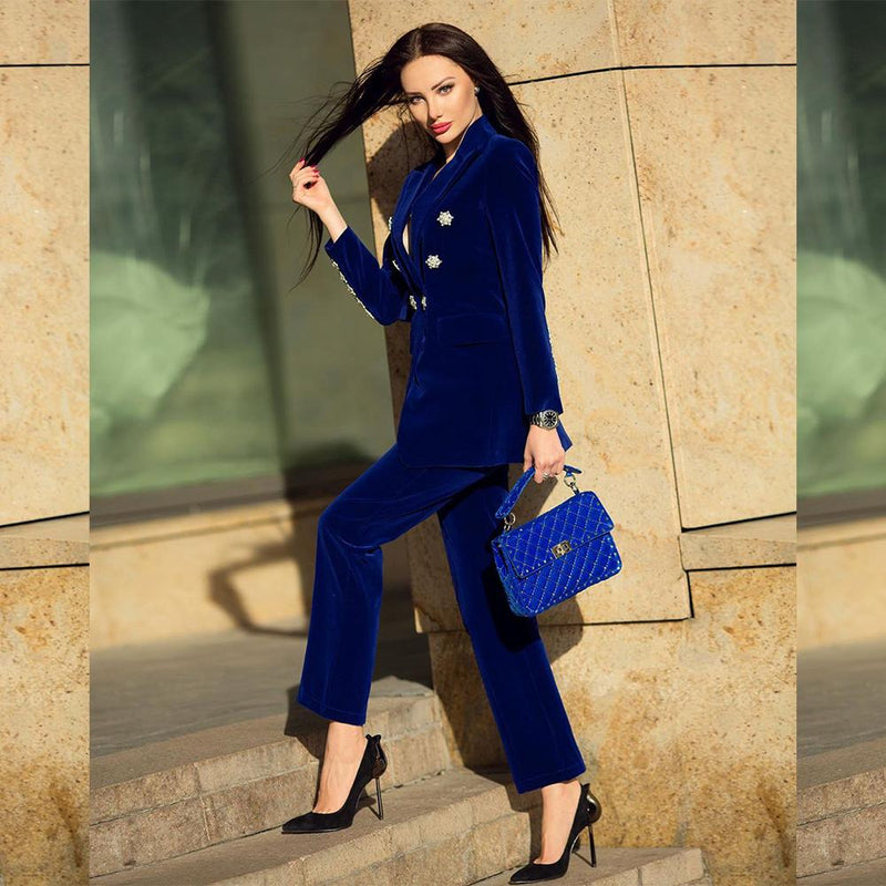 Elvis Blue Two Piece Set - LIMITED STOCK