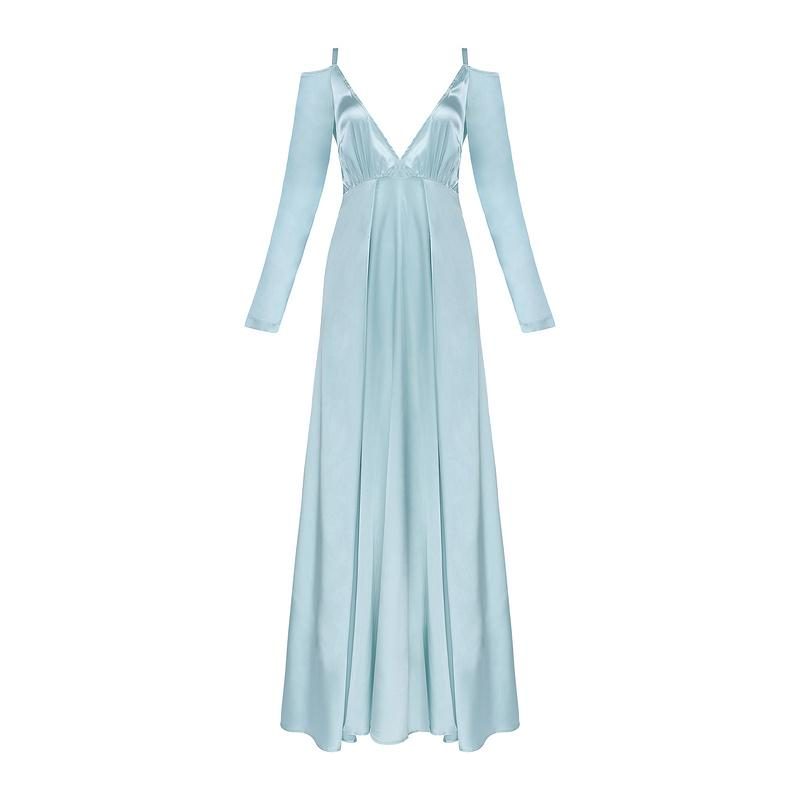 Hadley Blue Maxi Dress