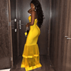 Chani Yellow Bandage Maxi Dress