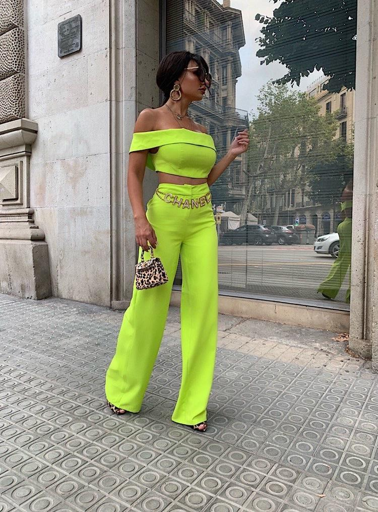Sheridan Lime Two Piece Set