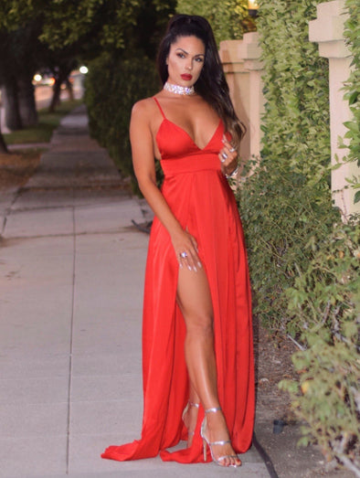 Milly Red Maxi Dress