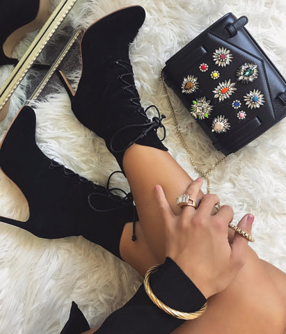 Belina Lace Up Ankle Boots