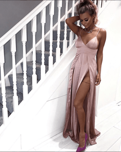 Milly Blush Maxi Dress