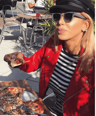 Leyla Red Leather Jacket