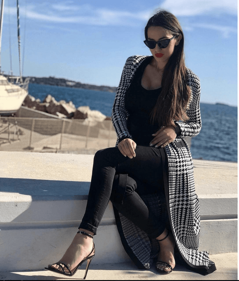 Charmaine Houndstooth Jacket