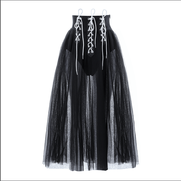 Aries Black  Skirt