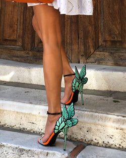 Angel Mint Wings Sandals