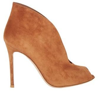 Jodi Tan Suede Leather Boots