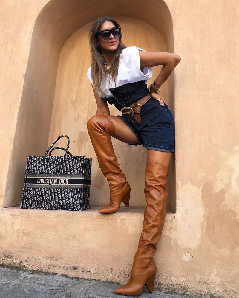 Penelope Tan Boots