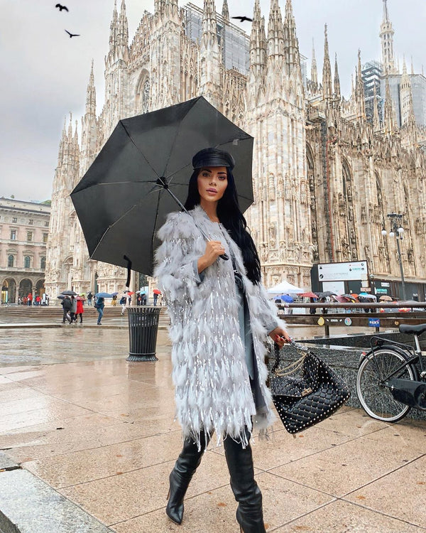Claudia Faux Fur Coat