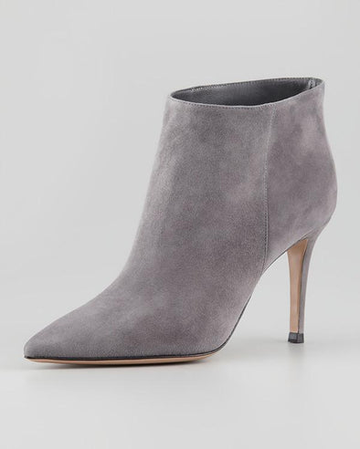Harley Grey Suede Boots