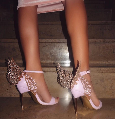 Angel Pink Wings Sandals