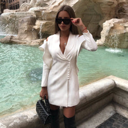 Sarih White Mini Dress