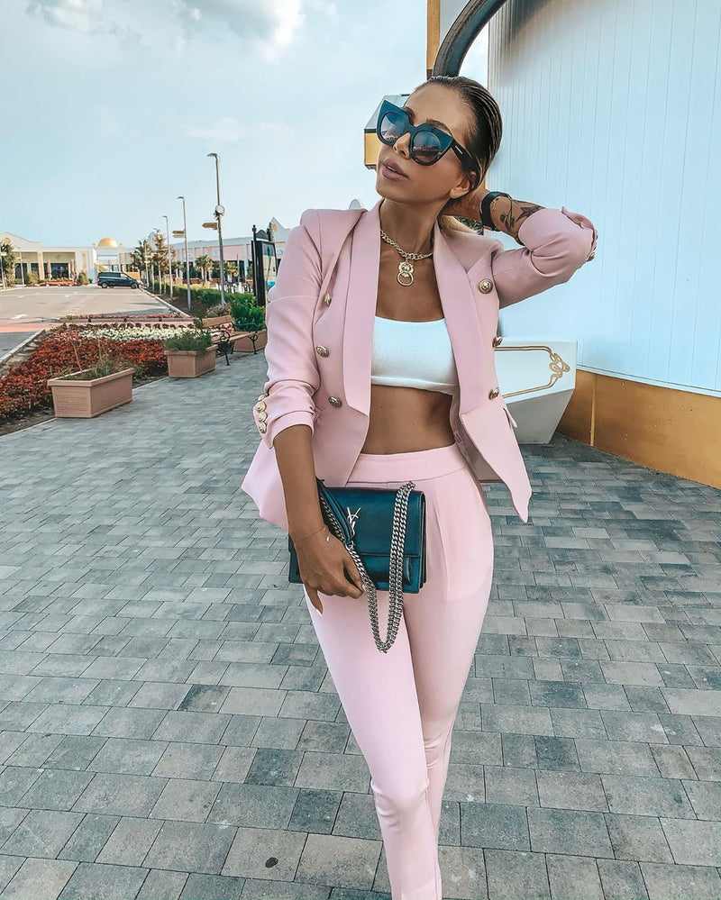 Perlina Pink  Two Piece Set