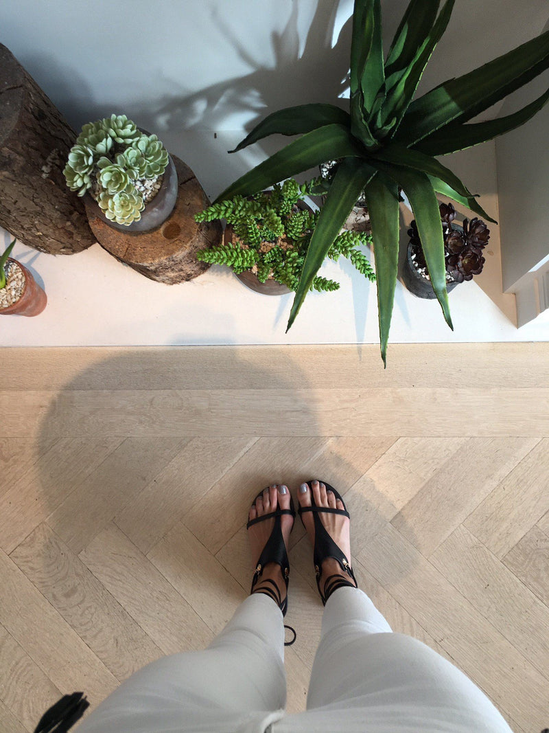 Adeline Leather Sandals