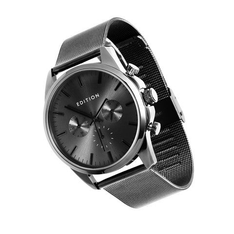 Edition Watches - charcoal colour