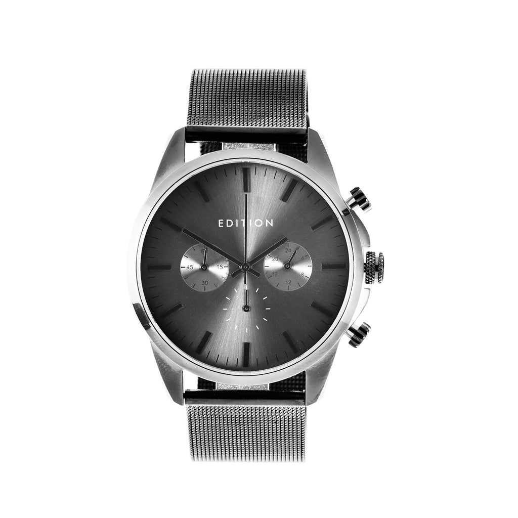 Edition Watches - charcoal colour, side view