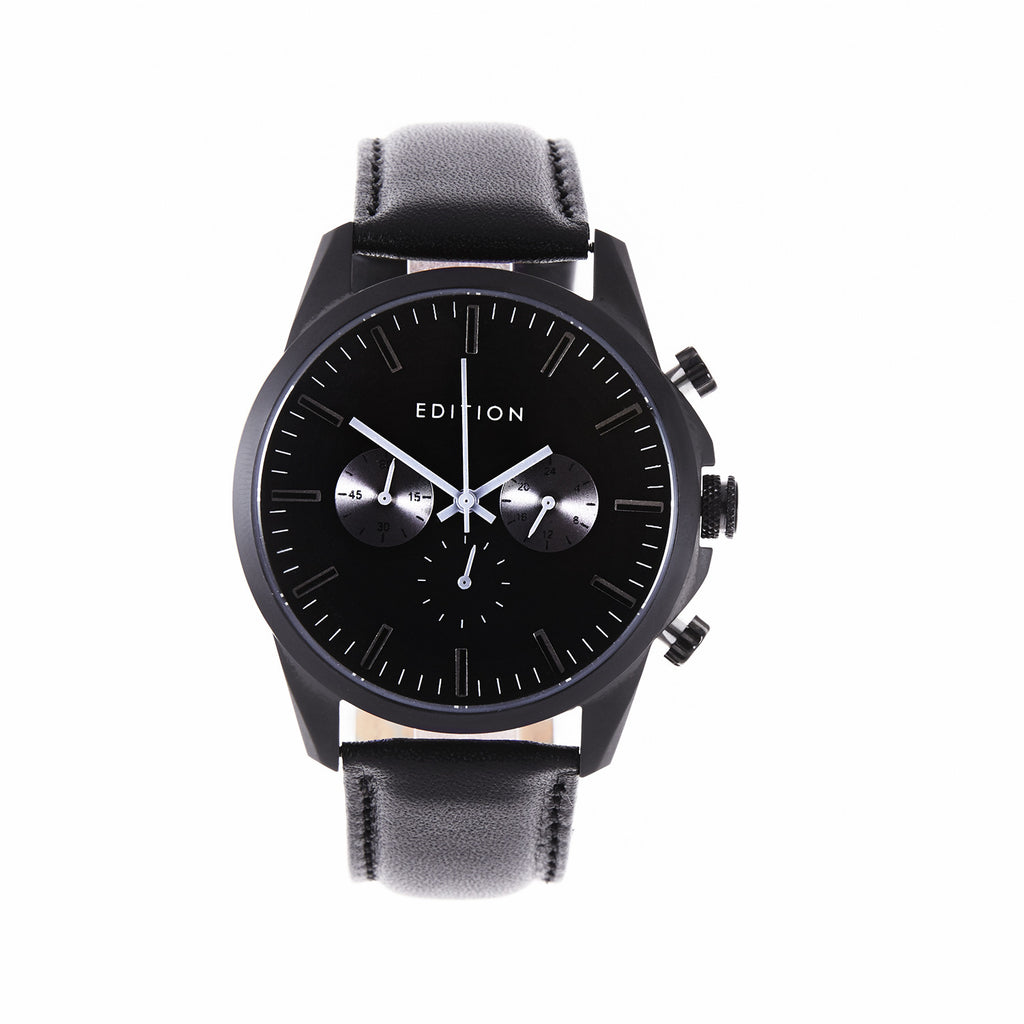 Edition Watches - black, front view