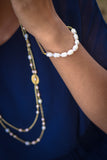 Gold Collection Pearl Bracelet