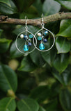 Silver Collection Turquoise Beaded Earrings