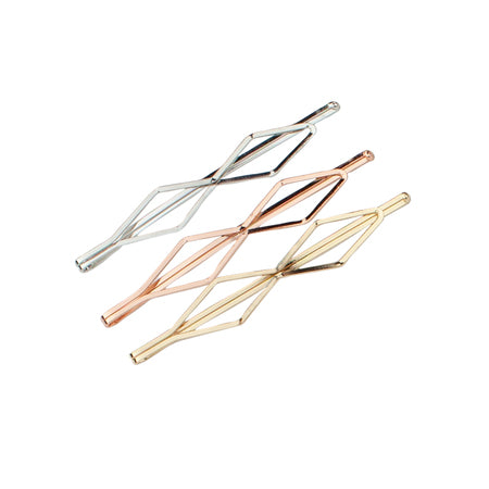 Kitsch Diamond Bobby Pins | Mixed Metal  | Hair Accessories | $12.00