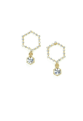 Lover's Tempo Twilight Drop | Gold | Earrings | $48