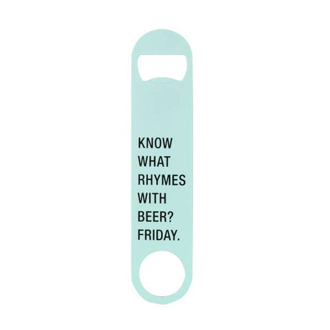 About Face Metal Bottle Opener | Friday | Home & Gifts | $5