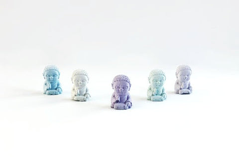 Uno Atelier Mini Buddha | Blue | Home & Gifts | $16