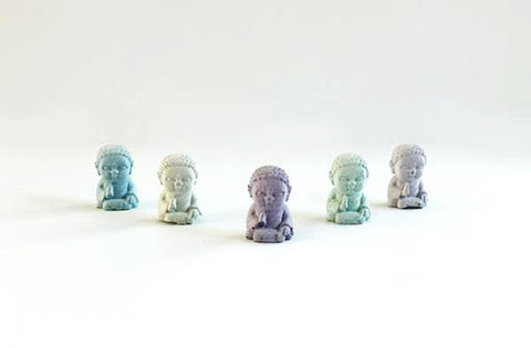Uno Atelier Mini Buddha | Grey | Home & Gifts | $16