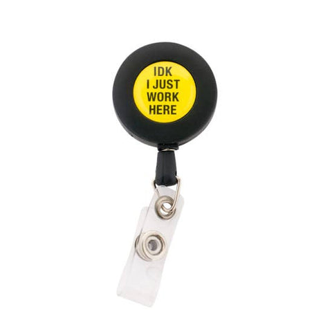 About Face Badge Reel | IDK | Home & Gifts | $6