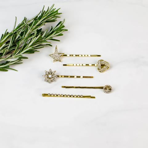 Funky Monkey Bobby Pins | Harper | Hair Accessories | $12