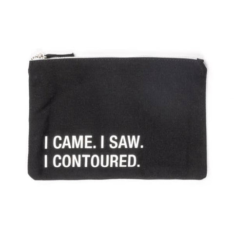 About Face Small Cosmetic Bag | Contoured | Cases | $16