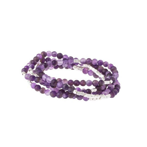 Scout Bracelet Becomes A Necklace | Amethyst  | Jewelry | $28