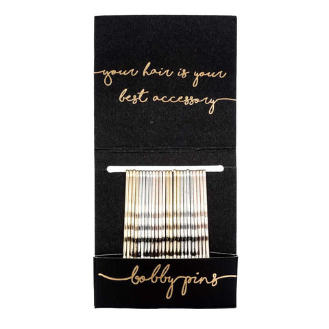 Kitsch Basic Matchbook Bobby | Mixed Metal | Hair Accessories | $12