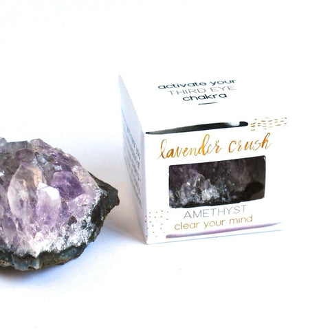 Lavender Crush Third Eye Chakra Stone | Amethyst | Home & Gifts | $22