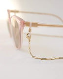 Lover's Tempo Charlie Convertible Glasses/Mask Chain | Gold | Necklaces | $30