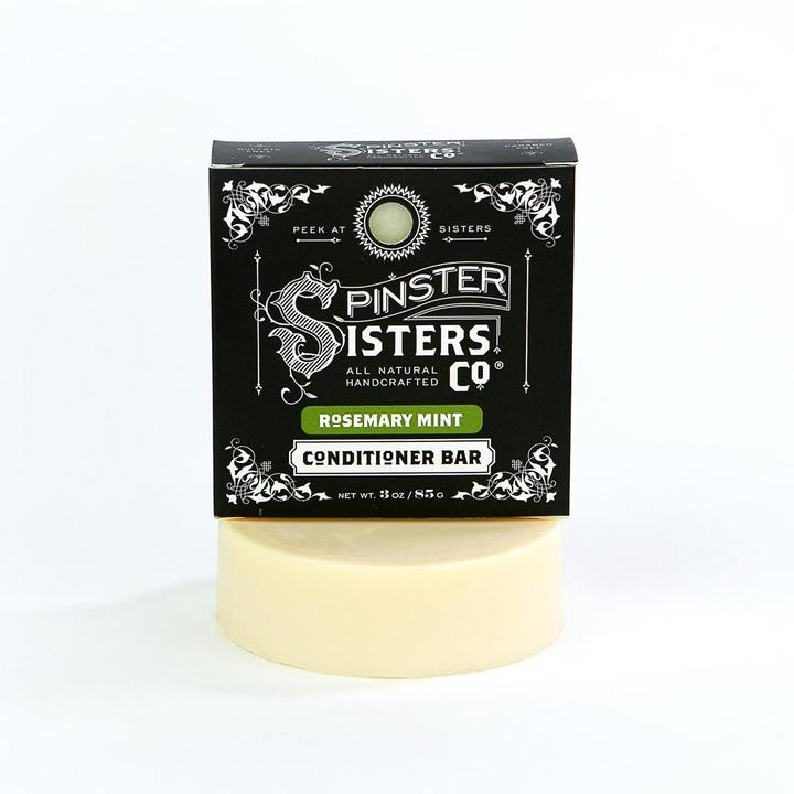 Spinsters Sisters Co. Conditioning Bar | Rosemary Mint | Beauty & Wellness | $19