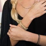 Scout Delicate Bracelet Becomes A Necklace | White Fossil | Jewelry | $22