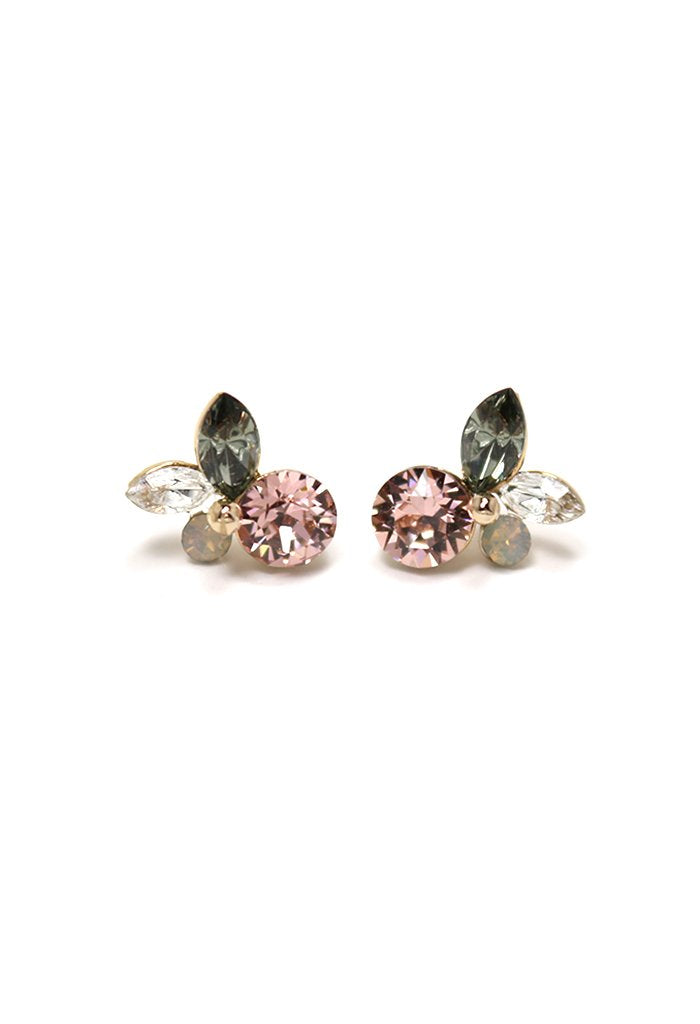 Lover's Tempo Corsage Posts | Pink | Earrings | $55