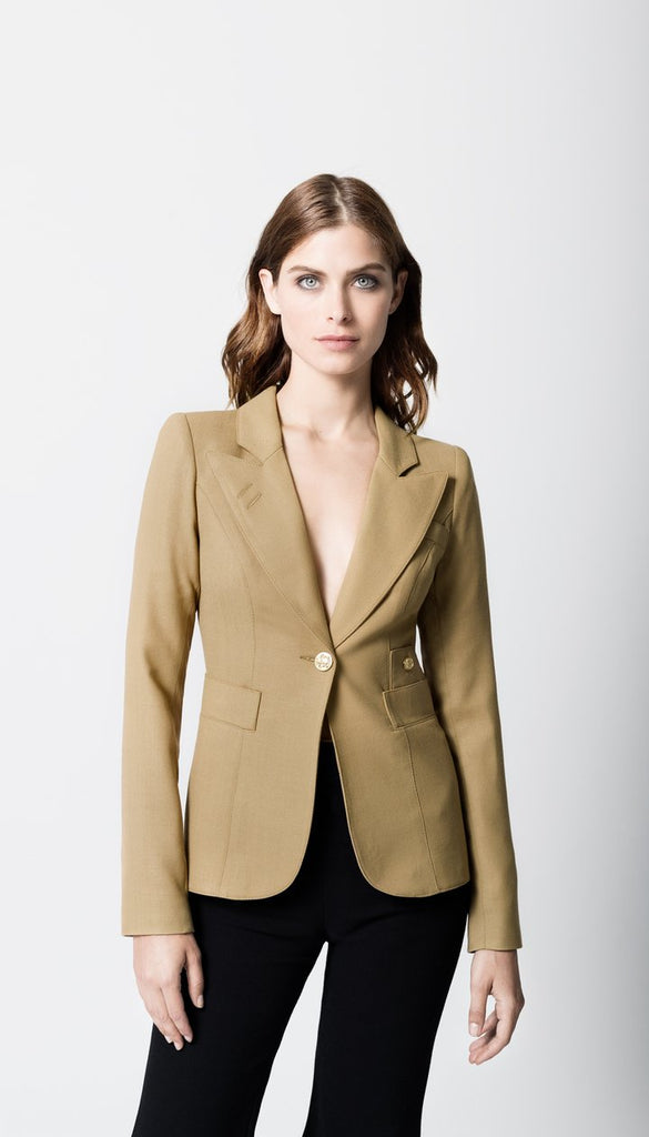 Smythe Duchess One Button | Camel | Blazers | $695