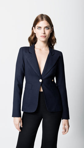 Smythe Duchess One Button | Navy | Blazers | $595