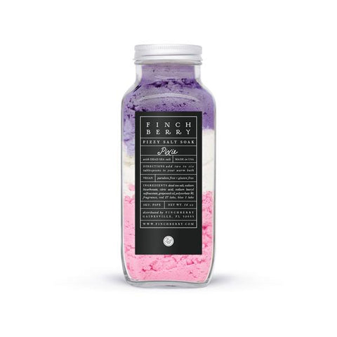 Finchberry Fizzy Salt Soak | Pixie | Beauty & Wellness | $20