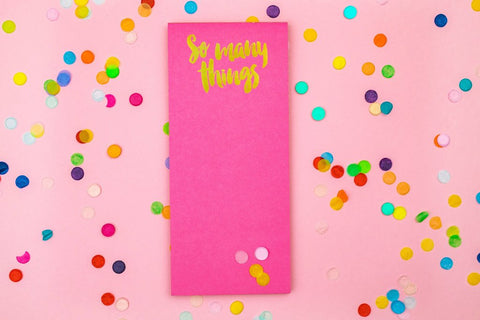 Taylor Elliott Magnet List Pad | So Many Things | Cards/Stationary | $9