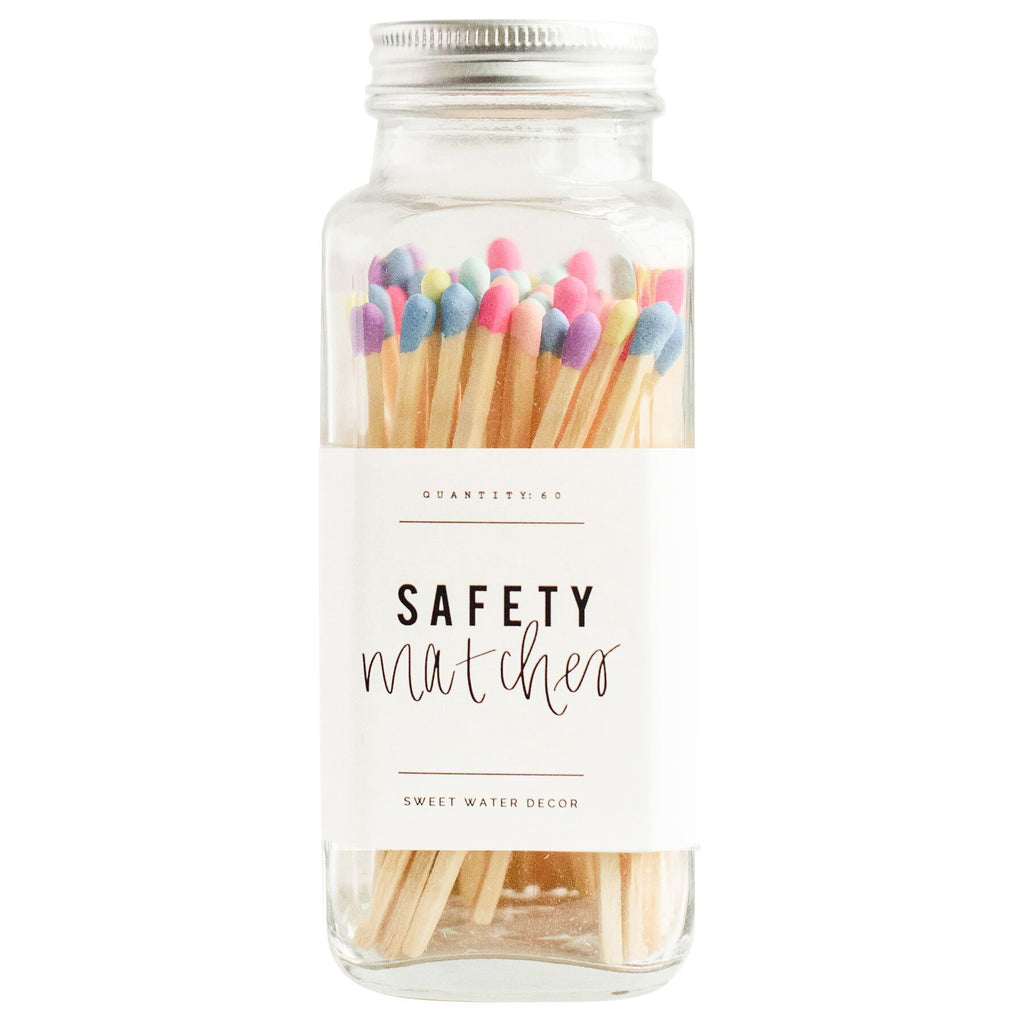 Sweet Water Decor Safety Matches | Rainbow | Home & Gifts | $18