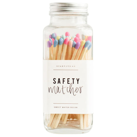 Sweet Water Safety Matches | Rainbow | Home & Gifts | $18