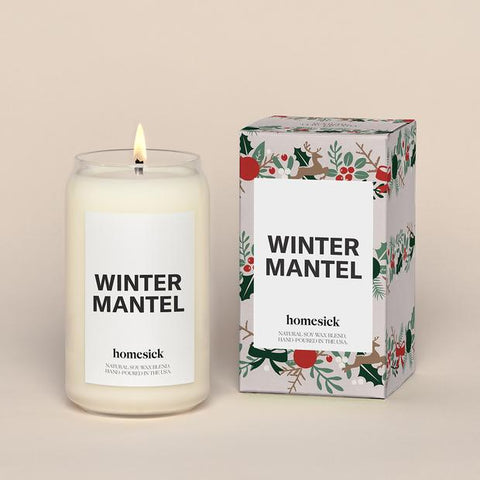 Homesick Natural Soy | Winter Mantel | Candles | $33