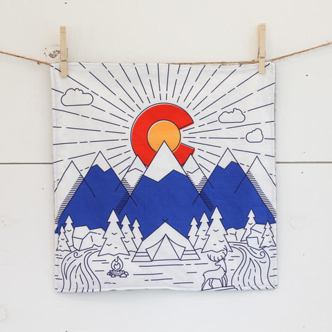 Abbey's House Security Blanket | Colorado Flag | Home & Gifts | $24