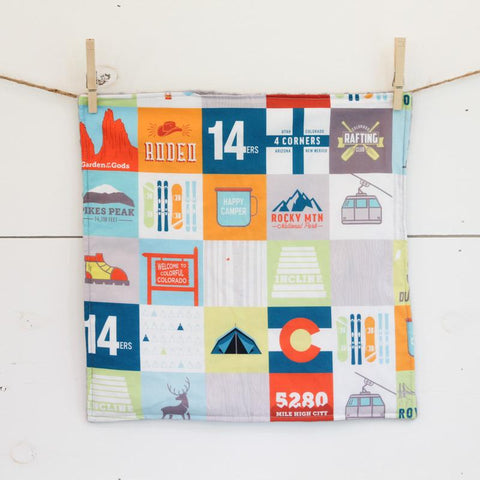 Abbey's House Security Blanket | Colorado Patchwork | Home & Gifts | $24