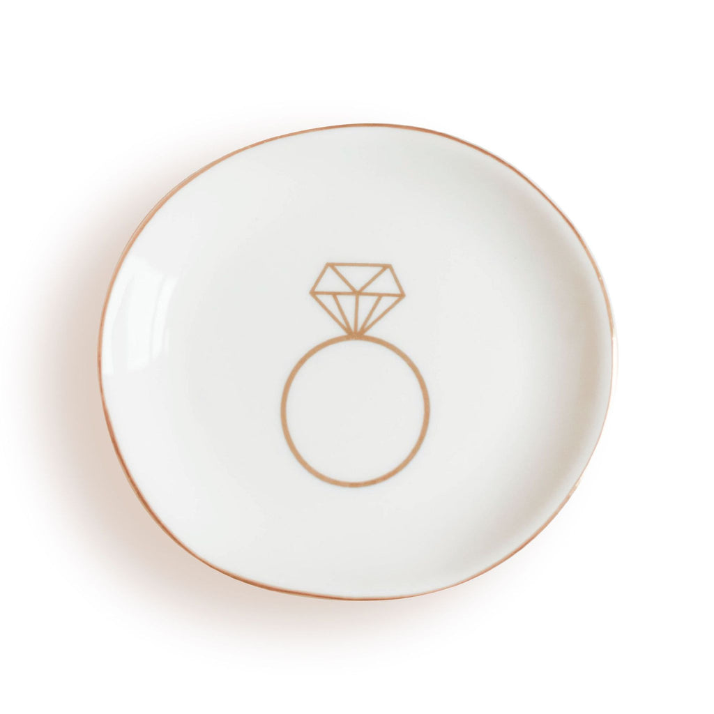 Sweet Water Decor Ring Dish | White | Home & Gifts | $15
